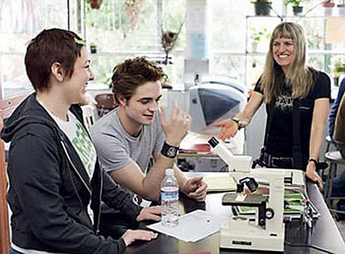 Twilight on-set