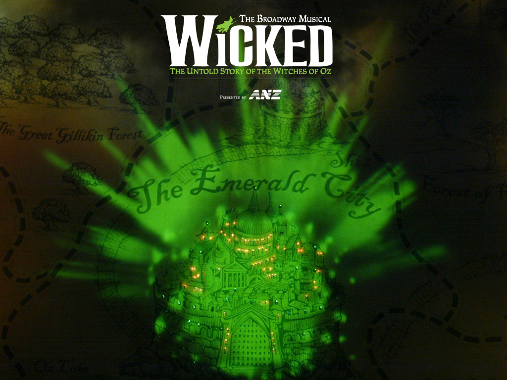 Wicked Wicked Wallpaper