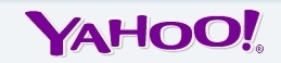 Yahoo Logo in Purple