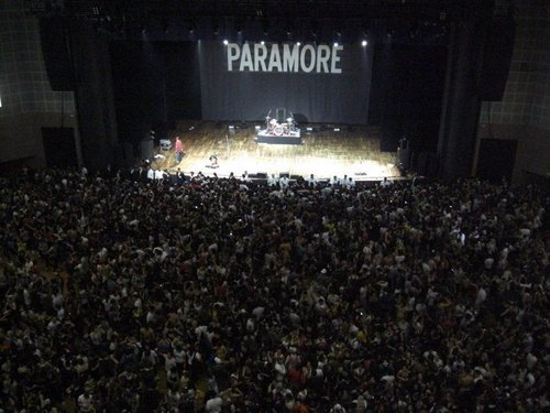 before you start the show in brazil