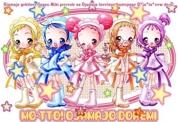 Venham falar sobre o Mangá Ojamajo Doremi! Magical-doremi-motto-and-naisho-magical-do-re-mi-2674027-600-412