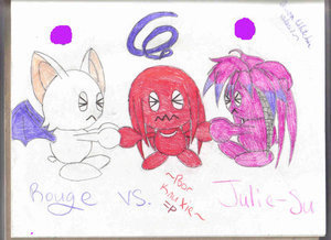 rouge choa vs julie su chao