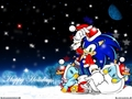 sonic claus - sonic-christmas wallpaper