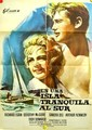 1960 A Summer Place Spanish Poster