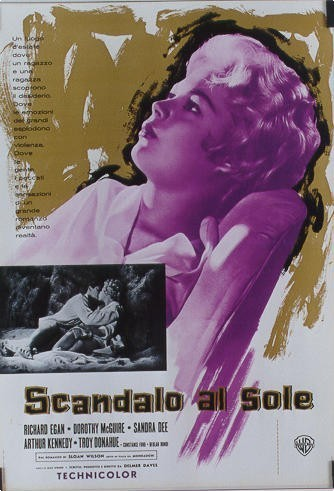 1959 A Summer Place Italian Poster