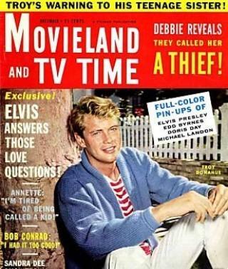 1961 Vintage پرستار Magazine