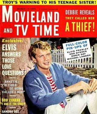1961 Vintage người hâm mộ Magazine