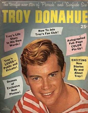 1961 Vinatge پرستار Magazine