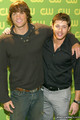 2006  CW Upfront Presentation  - jared-padalecki-and-jensen-ackles photo