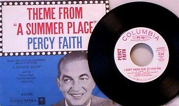A Theme From A Summer Place 45rpm