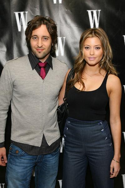 Alex O'Loughlin and Wife