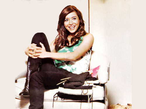 Alyson Hannigan kertas dinding entitled Alyson