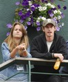 Andy and girlfriend Kim Sears