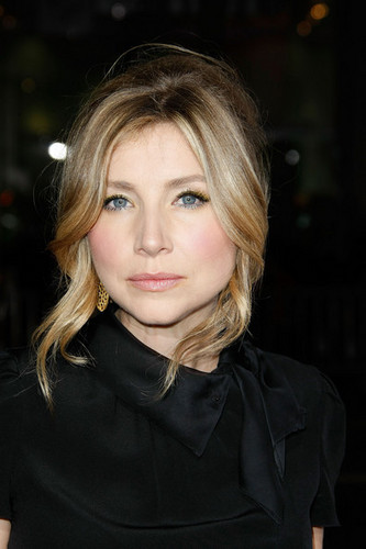 Sarah Chalke wallpaper called At the premiere of Zack and Miri Make a Porno