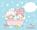 Bathtime Wallpaper