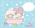 Bathtime Wallpaper