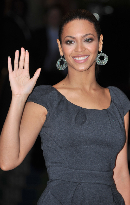 Beyonce in London