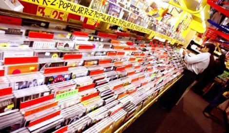 CDs section at JB