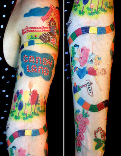 Candy Land Tattoos - candy-land Photo
