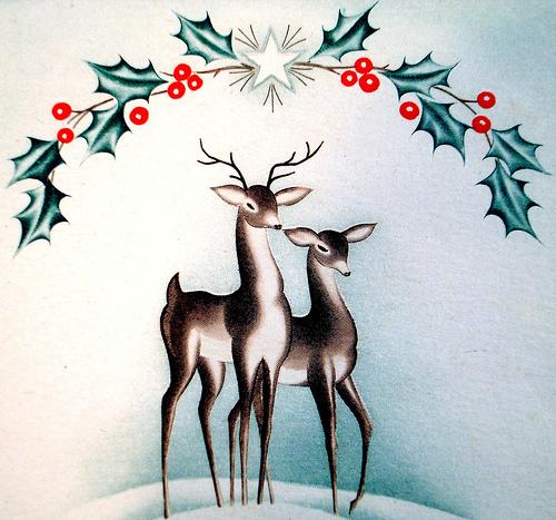 giáng sinh Reindeer ... giáng sinh 2008