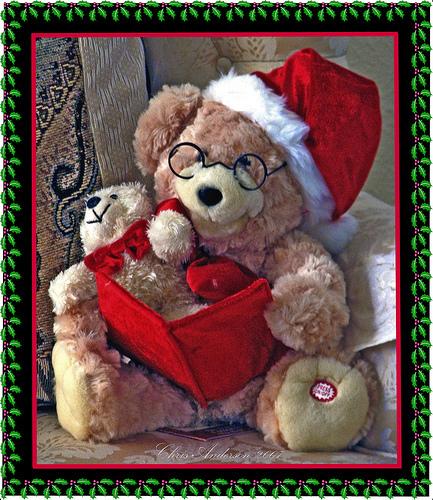 বড়দিন Santa ভালুক (Christmas 2008)