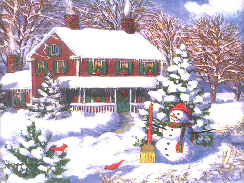 Krismas Scene