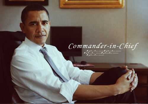 Barack Obama images Commander-in-Chief wallpaper and background photos
