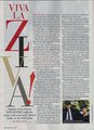 Cote de Pablo (Ziva) Article in TV Guide