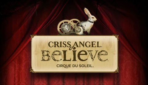 Cirque du Soleil wallpaper titled Criss Angel Believe