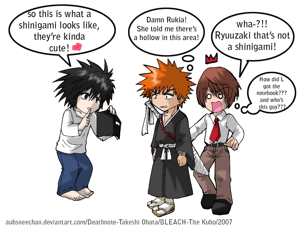 DN & Bleach Crossover