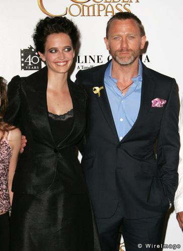 Daniel Craig Hintergrund titled Daniel Craig and Eva Green