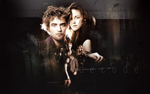 Edward & Bella wallpaper