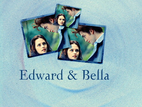 Edward & Bella پیپر وال