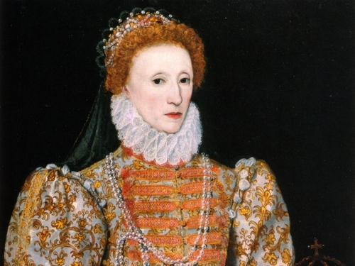 Kings and Queens wallpaper entitled Elizabeth I of England