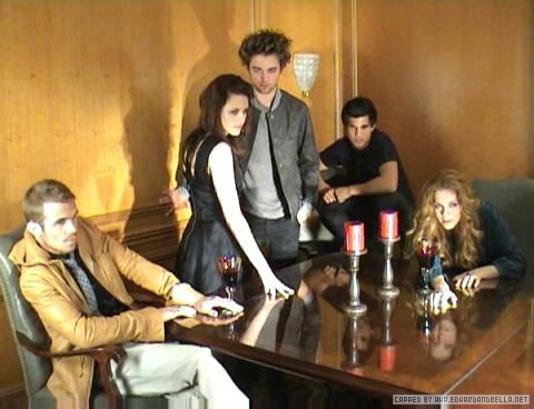 Twilight Series wallpaper called Empire Photoshoot (behind the scenes)