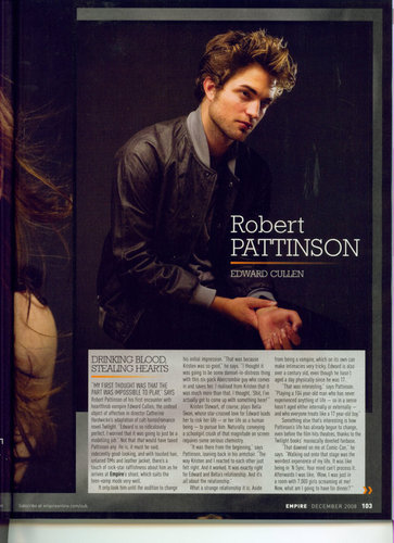 Empire magazine December issue scans