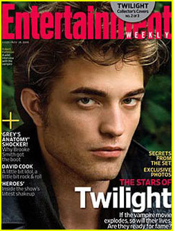 Robert Pattinson Hintergrund entitled Entertainment Weekly's Twilight Cover #2