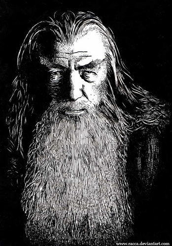Gandalf Fan art