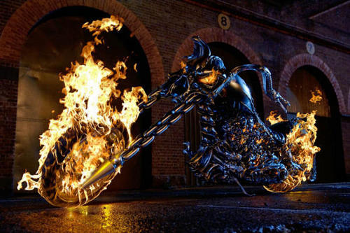Ghost Riders Bike - ghost-rider Photo