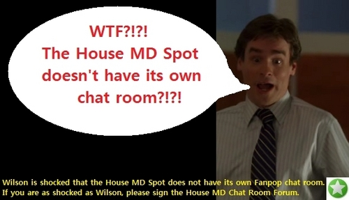HOUSE MD CHAT ROOM PROMO: Wilson!