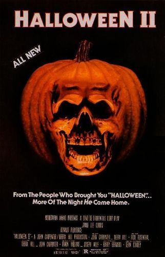 Halloween II original film poster