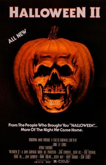 Horror Movies images Halloween II original film poster ...