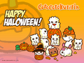 Halloween Kuririn - sanrio wallpaper