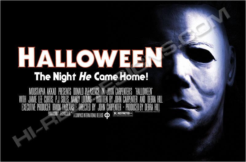 halloween original film poster horror movies photo