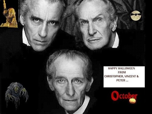Happy Dia das bruxas from the Masters of Horror