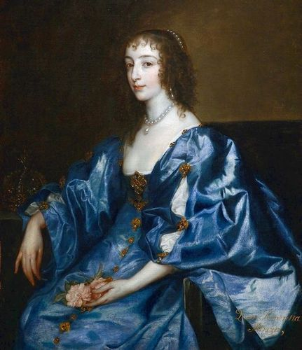 Kings and Queens wallpaper entitled Henrietta Maria of France, Consort to Charles I of England