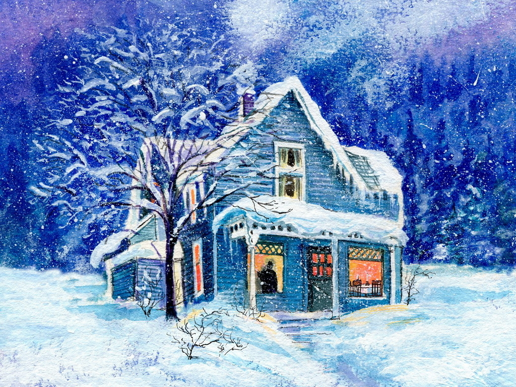Holiday home christmas wallpaper 2735334 fanpop for At home christmas