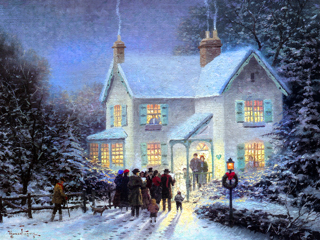 Holiday Home Christmas Wallpaper 2735369 Fanpop