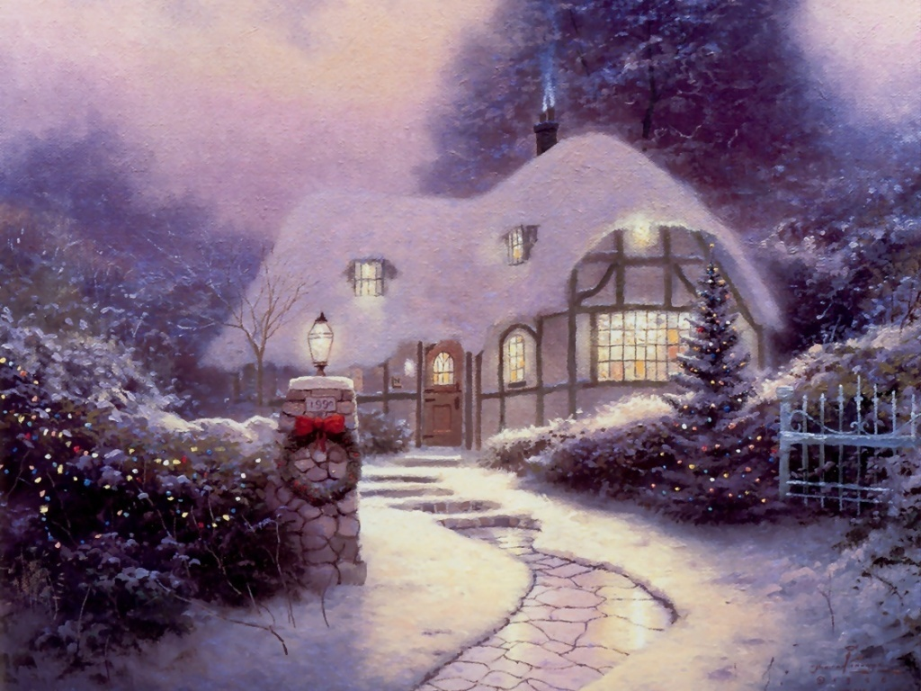 Holiday Home - Christmas Wallpaper (2735390) - Fanpop