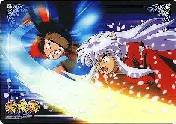 Inuyasha & Koga Fighting